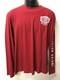 Indian Shield Logo långärmad t-shirt herr röd