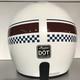 Indian Open Helmet white stripe