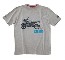BMW R 1200 GS t-shirt grå