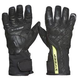 Sweep GS200 vattentät handske, svart/fluo