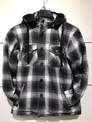 Bolt Wood Chopper kevlarskjorta svart/grå