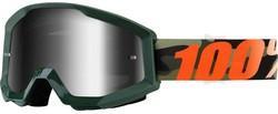 100% Strata Huntsitan Mirror Silver Lens