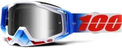 100% Racecraft Fourth Mirror Silver Lens