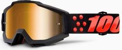 100% Accuri Gernica Mirror Gold Lens