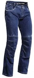 Lindstrands Wrap jeans unisex blå kort 2XL