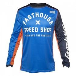 Fasthouse Heritage tröja blå