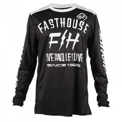 Fasthouse Dickson tröja svart/vit