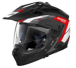 Nolan N70-2 X Grandes Alpes N-Com svart röd d896b03dfe895