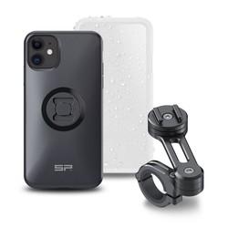 SP CONNECT Startpaket MC - mobilskal, väderskydd & styrfäste