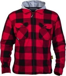 Twice Frank helförstärkt skjorta röd