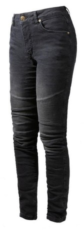 JOHN DOE Kevlarjeans Betty Biker high svart