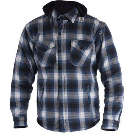 Bolt Wood Chopper kevlarskjorta blå