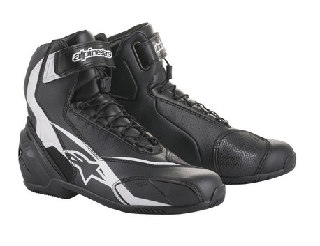 Alpinestars SP-1 v2 MC-sko svart/vit