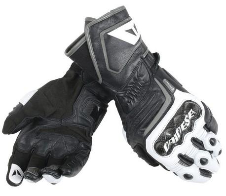 Dainese Carbon D1 Long svart/vit handske