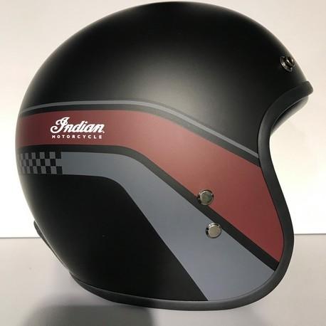Indian Open Helmet matte stripe