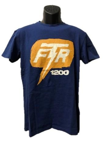 Indian FTR1200 Bolt t-shirt herr blå