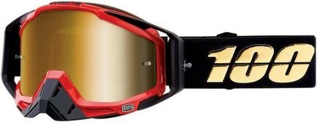 100% RACECRAFT Goggle Hot Rod  - Mirror True Gold Lens, VUXEN