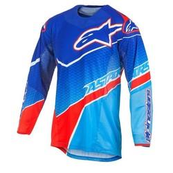 Alpinestars Techstar Venom tröja blå/cyan/röd