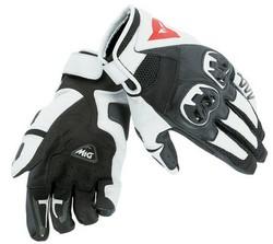 Dainese MIG C2 handske svart/vit