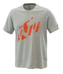 KTM Radical Sliced t-shirt gråmelerad