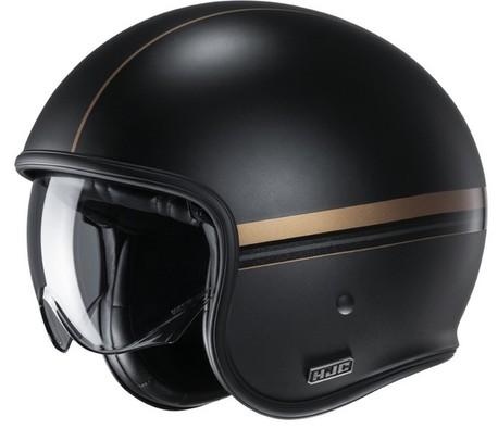 HJC V30 Equinox svart/guld