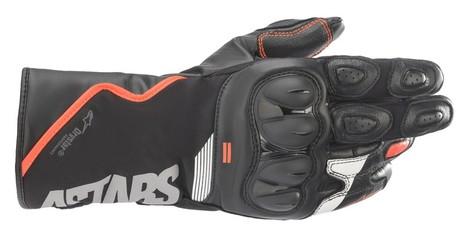 Alpinestars SP-Z Drystar handske svart/röd fluo