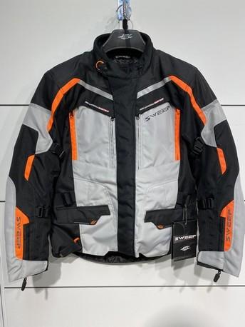 Sweep GT Touring 2 vattentät jacka ljusgrå/orange