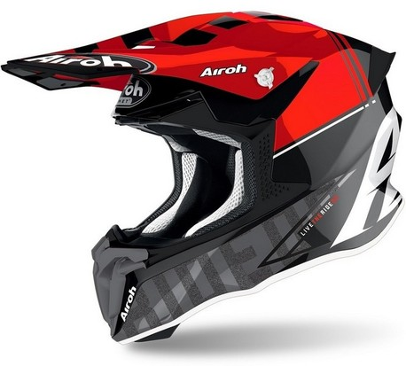 Airoh Twist 2.0 Tech röd