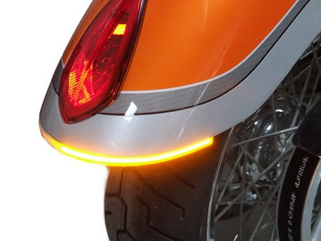 Victory Hammer Rear LED turn signal assembly