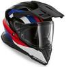 BMW GS Pure hjälm Peak svart/röd/vit/blå