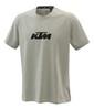 KTM Pure Logo t-shirt gråmelerad