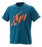 KTM Radical Sliced t-shirt blå
